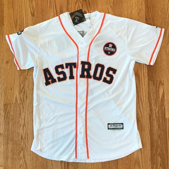 CORREA  1 Houston Astros Home MLB Baseball Jersey 094f16663